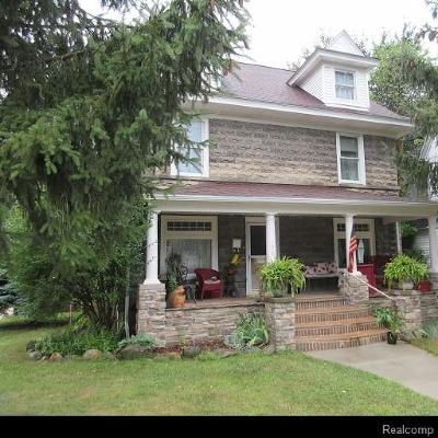 Holly Twp, Holly Vlg, Holly Single Family Home For Sale: 106 John Street