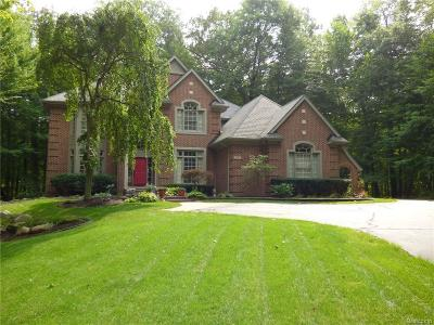 Wixom Single Family Home For Sale: 1562 Forest Bay Court