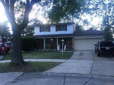 Troy Single Family Home For Sale: 2391 Castleton Drive