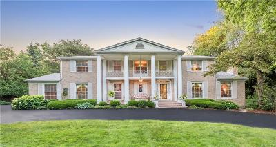Bloomfield Hills Single Family Home For Sale: 2050 W Valley Road