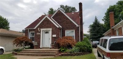 Allen Park Single Family Home For Sale: 15745 Belmont Avenue