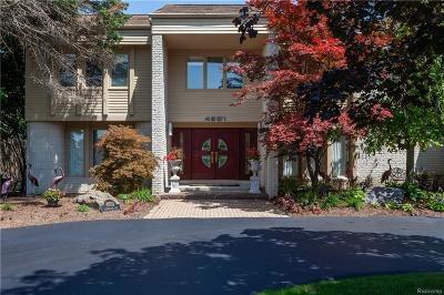 West Bloomfield Twp Single Family Home For Sale: 4951 Champlain Circle
