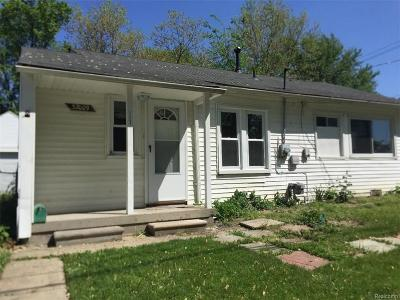 Westland Single Family Home For Sale: 32009 Cheboygan Court