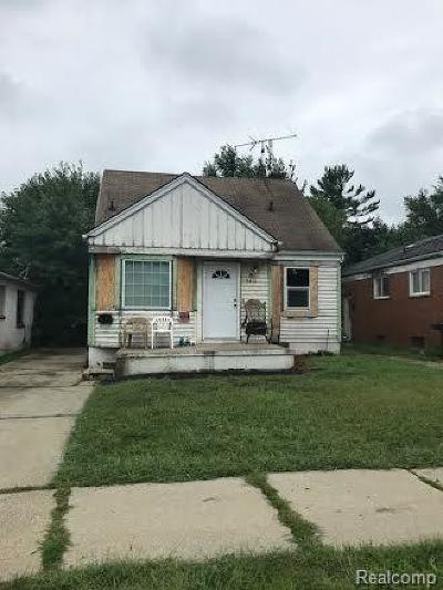 Macomb County, Oakland County, Wayne County Single Family Home For Sale: 8411 Plainview Avenue
