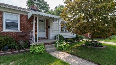 Livonia Single Family Home Sold: 9924 Mayfield Street