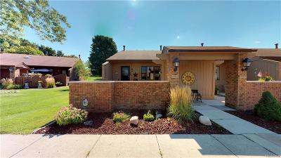 South Lyon MI Condo/Townhouse For Sale: $124,900