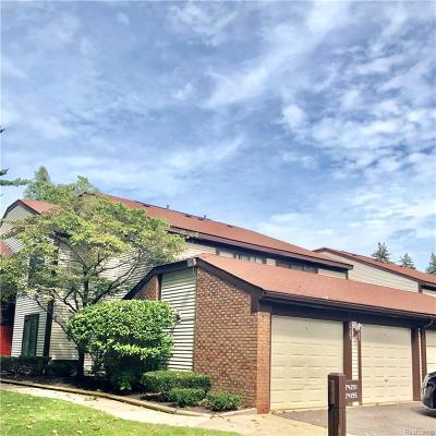 Southfield MI Condo/Townhouse For Sale: $115,000