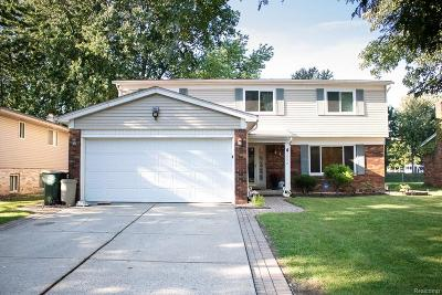 Single Family Home For Sale: 45472 N Fieldstone Drive