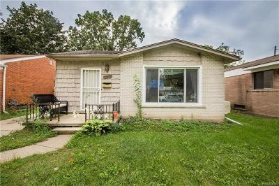 Inkster Single Family Home For Sale: 30069 Avondale Street