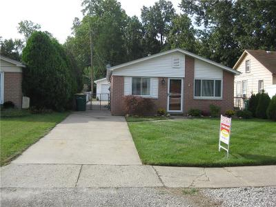 Brownstown Twp Single Family Home For Sale: 23701 Liddle Street