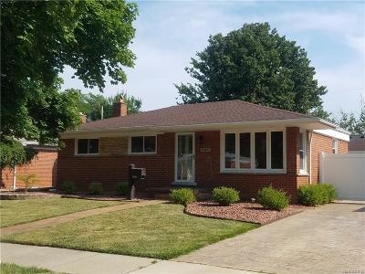 Trenton Single Family Home For Sale: 3405 Plainview Street