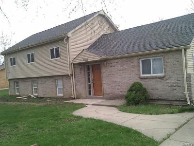 Troy Single Family Home For Sale: 2132 Vermont Drive