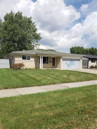 Sterling Heights Single Family Home For Sale: 14917 Carmel Drive