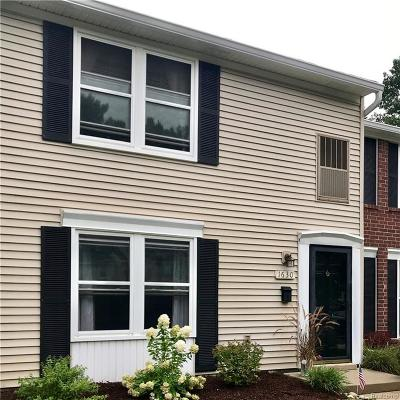 Canton Twp Condo/Townhouse For Sale: 1630 Orchard Drive