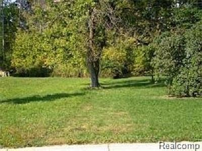 Waterford Twp Residential Lots & Land For Sale: Tecumseh