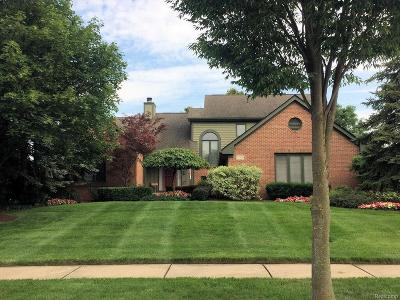 Troy Single Family Home For Sale: 1749 Greenwich Drive