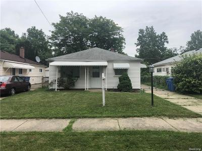 Dearborn Heights Single Family Home For Sale: 6532 N Waverly Street