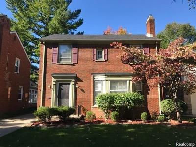 Dearborn Single Family Home For Sale: 245 N Military Street