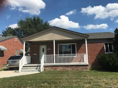 Southgate Single Family Home For Sale: 15141 Devoe Street