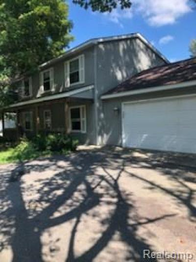 Waterford Twp Single Family Home For Sale: 3888 Nelsey Road