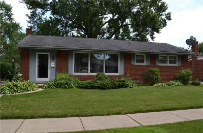 Wayne Single Family Home For Sale: 36911 Greenbush Road