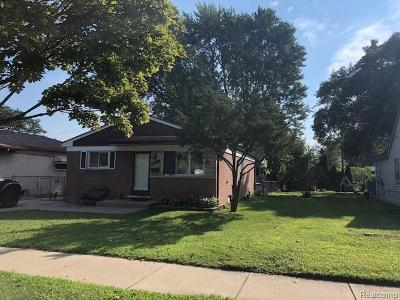 Dearborn Heights Single Family Home For Sale: 6230 N Gulley Rd