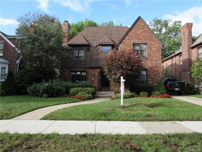 Dearborn Single Family Home For Sale: 972 Beechmont Street