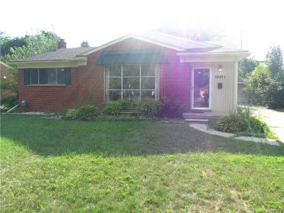 Livonia Single Family Home For Sale: 14211 Inkster Road