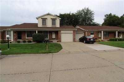 Harrison Twp Condo/Townhouse For Sale: 28049 Pine Tree Lane