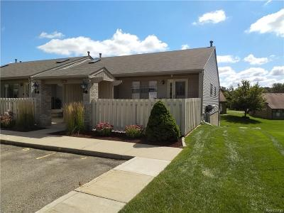 South Lyon MI Condo/Townhouse For Sale: $127,500