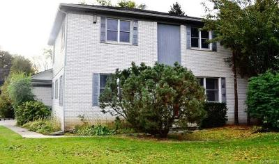 Shelby Twp Single Family Home For Sale: 5210 Vincent Trail