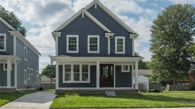Royal Oak Single Family Home For Sale: 1827 N Center Street