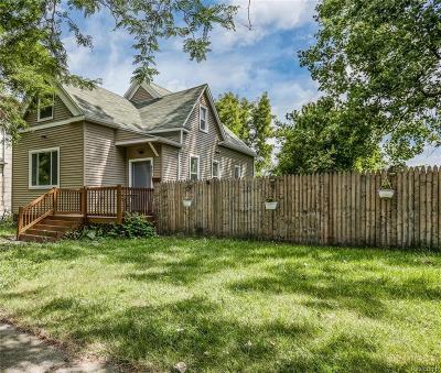 Detroit Single Family Home For Sale: 4670 18th Street Street W