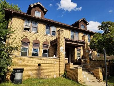 Detroit Multi Family Home For Sale: 1904 Central Street