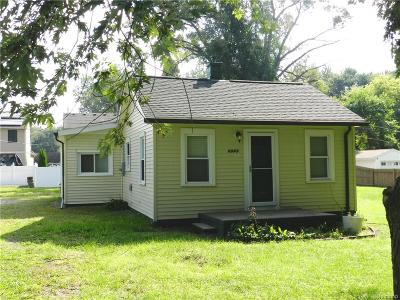 Single Family Home For Sale: 6045 Newberry Street