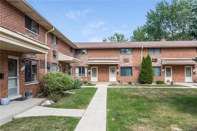 Madison Heights Condo/Townhouse For Sale: 29166 Tessmer Court