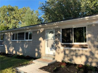 Single Family Home Pending: 15955 Wellington Street