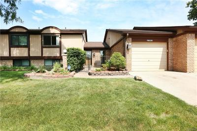 Warren MI Condo/Townhouse For Sale: $159,900