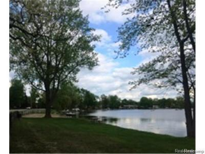 Waterford Twp Residential Lots & Land For Sale: Pleasant Woods Drive