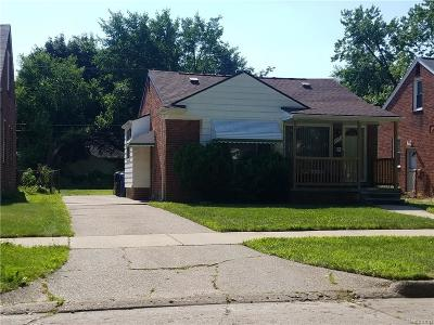 Redford Twp Single Family Home For Sale: 11753 Virgil