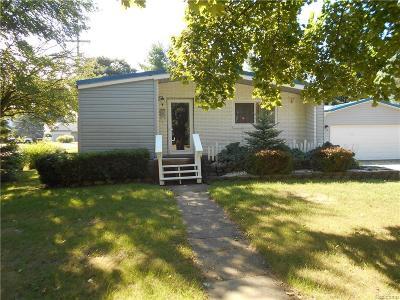 Imlay City MI Single Family Home For Sale: $156,900