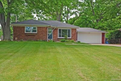 Lake Orion, Orion Twp, Orion Single Family Home For Sale: 3972 Joslyn Road