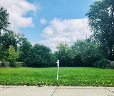 Farmington Hills Residential Lots & Land For Sale: 22664 S Colgate Street