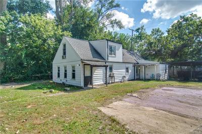 Warren Single Family Home For Sale: 3700 Wasmund Avenue