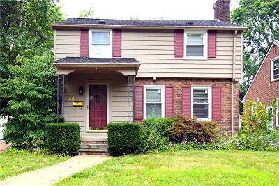 Ferndale Single Family Home For Sale: 380 W Lewiston Avenue