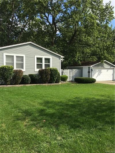 Royal Oak Single Family Home For Sale: 3512 Benjamin Avenue