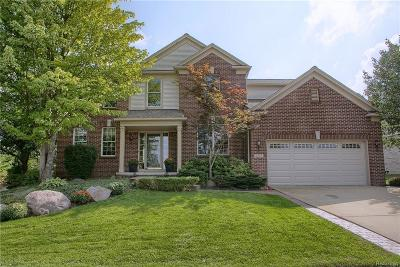 Rochester Hills, Rochester Single Family Home For Sale: 1892 Ring Neck Drive