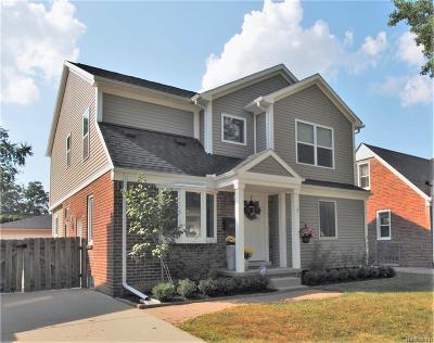 Royal Oak Single Family Home For Sale: 2931 N Blair Avenue