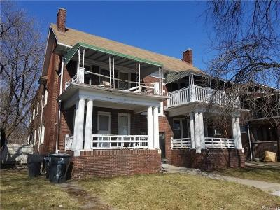 Detroit Multi Family Home For Sale: 2006 Delaware Street