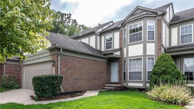 Canton Twp Condo/Townhouse For Sale: 2024 Hawks Nest Court #52